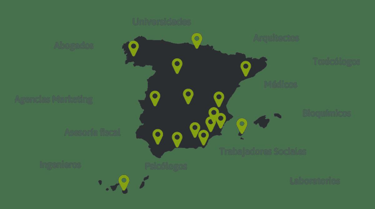 Mapa colaboradores