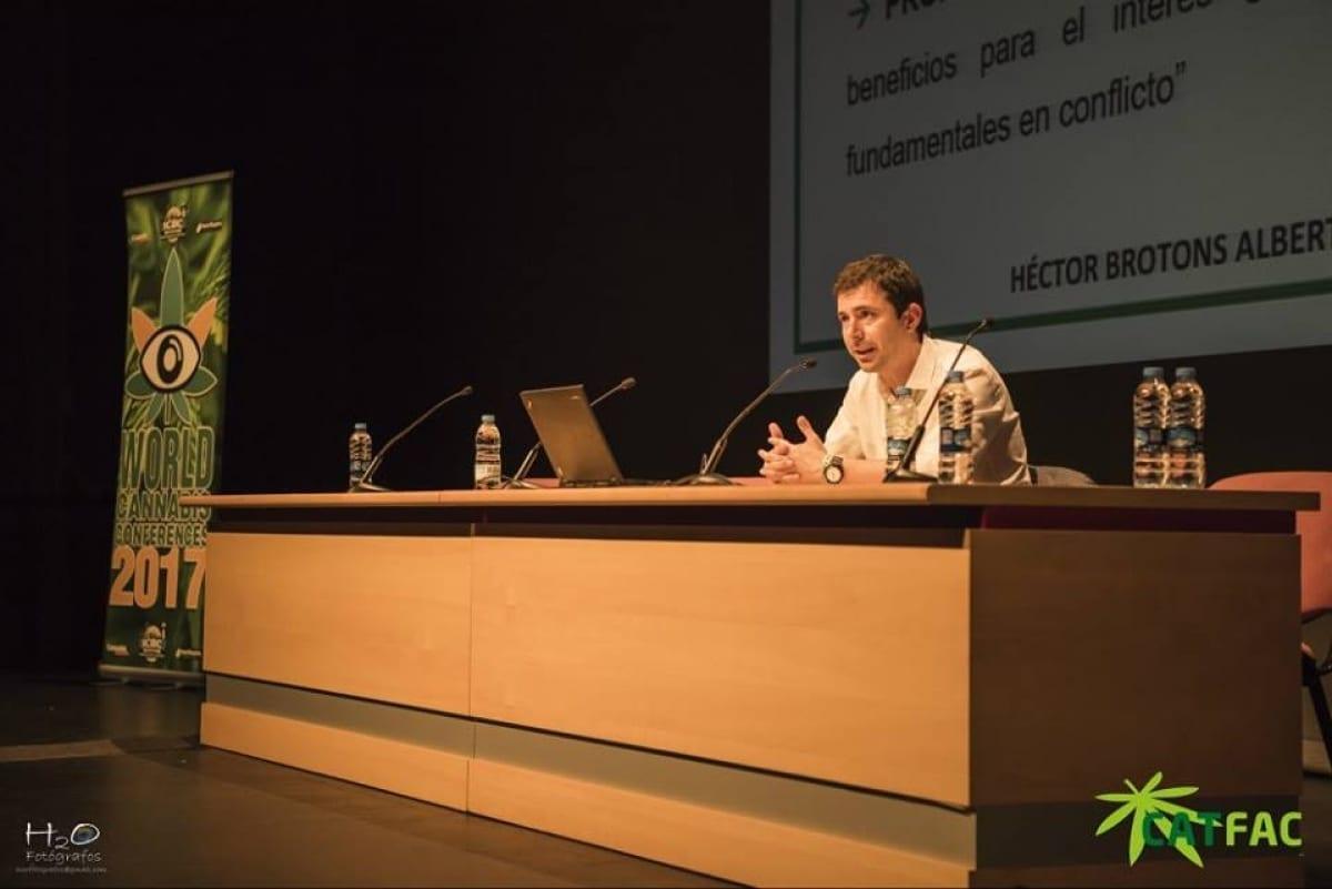 Brotsanbert en V World Cannabis Conferences